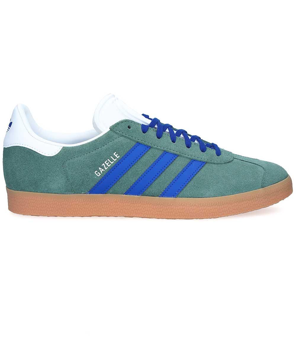 Sneakers Gazelle suède kaki