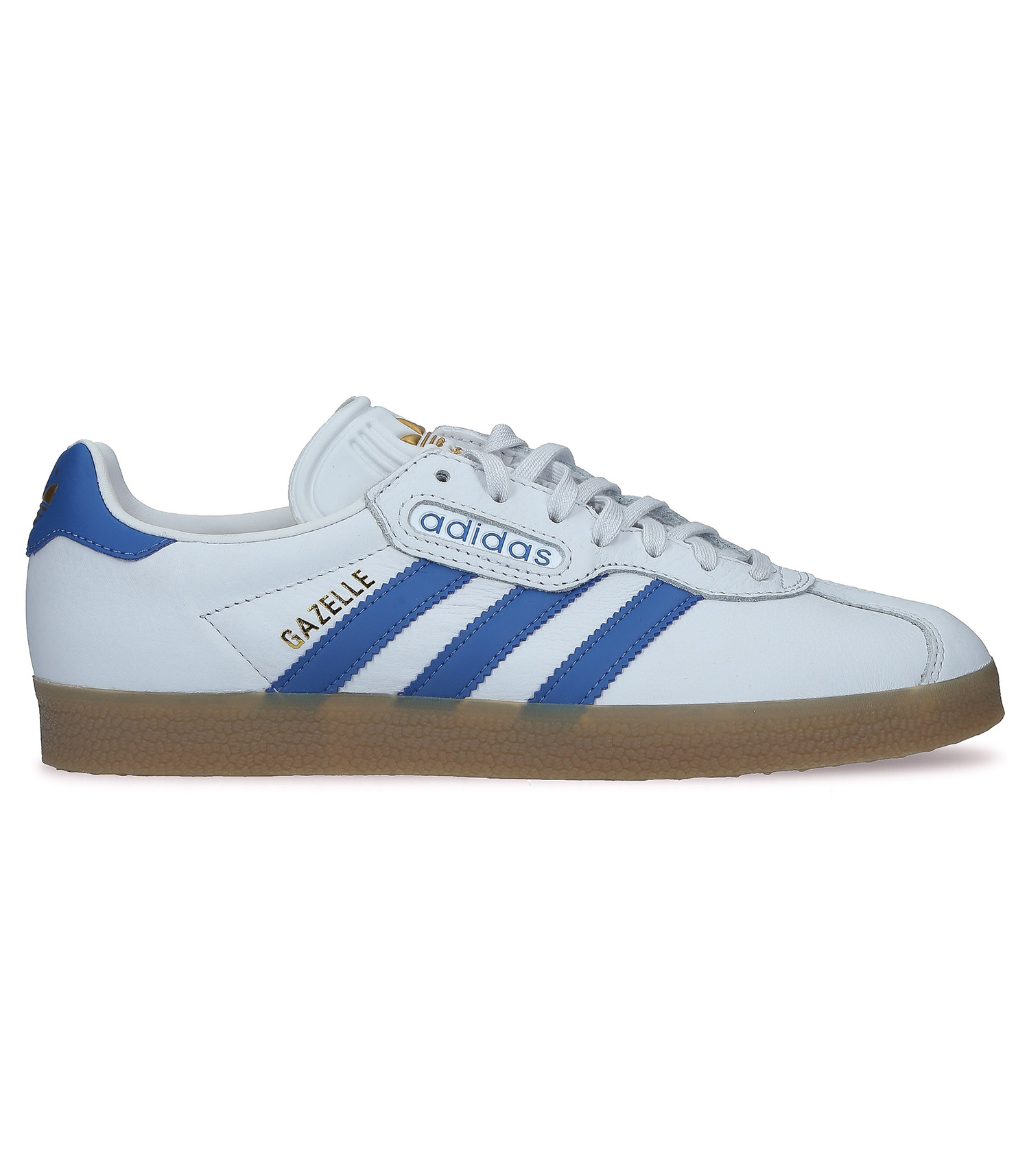 sneakers homme blanche adidas bande bleue