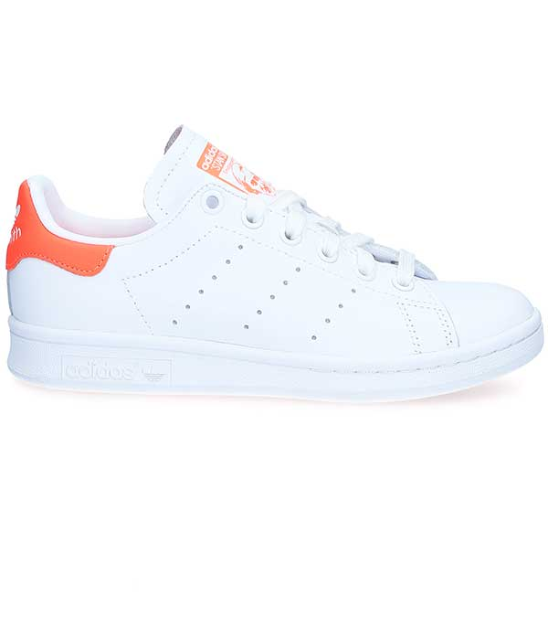Sneakers Stan Smith Blanc/Orange Fluo